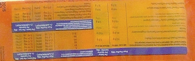 OVOmaltine - Nutrition facts - fr
