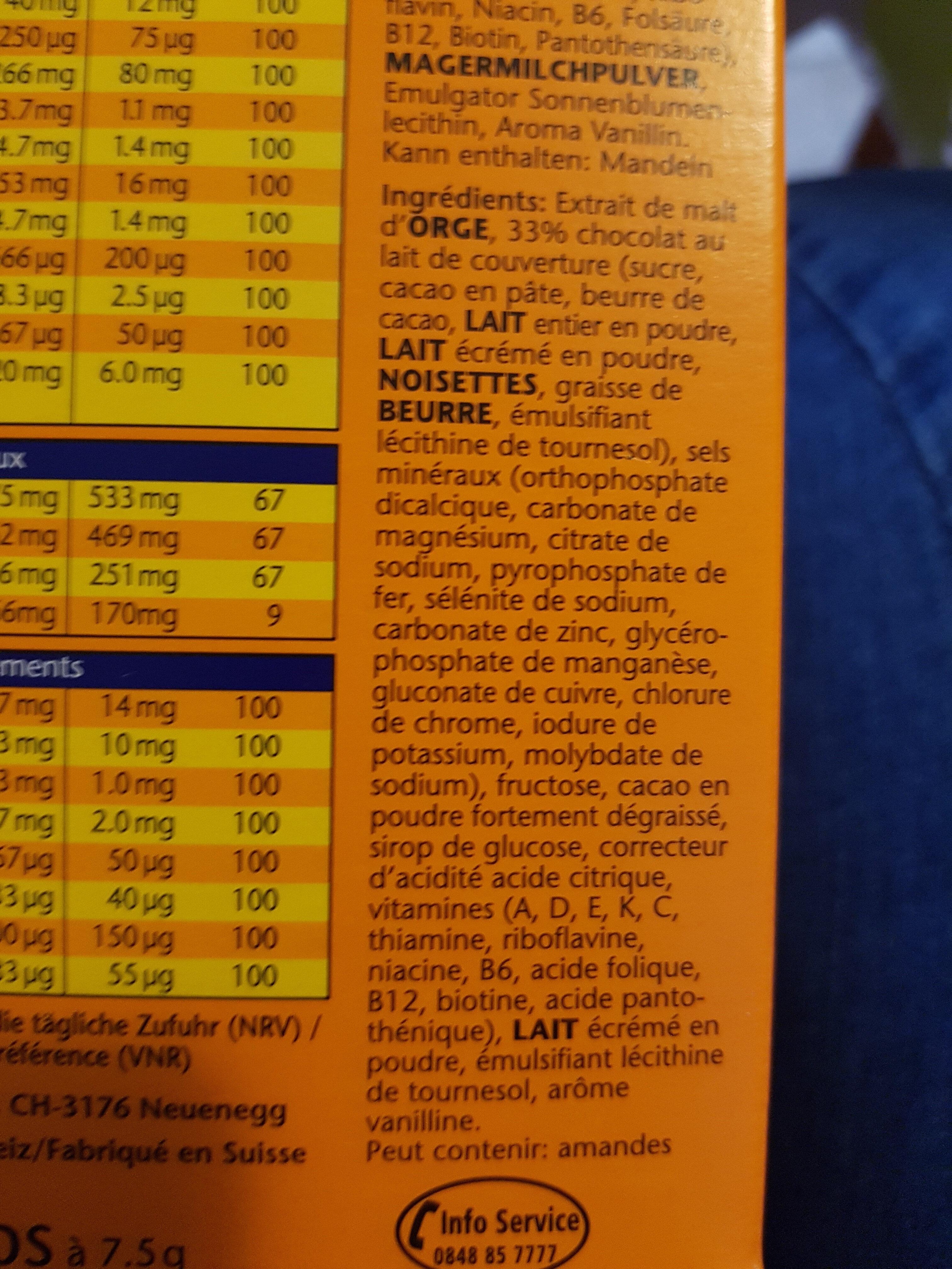 Jemalt 13+13 Tabs 40 X 7.5 G - Ingrediënten