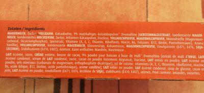 Glace batonnet - Ingredienti - fr