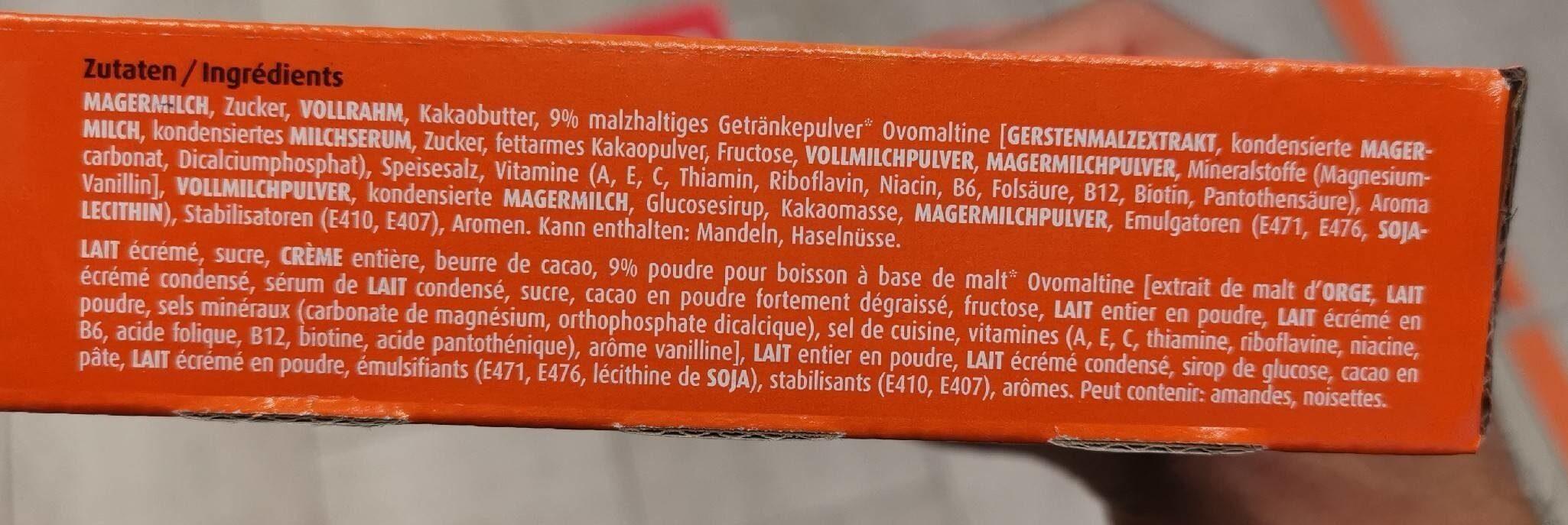 Glace batonnet - Valori nutrizionali - fr