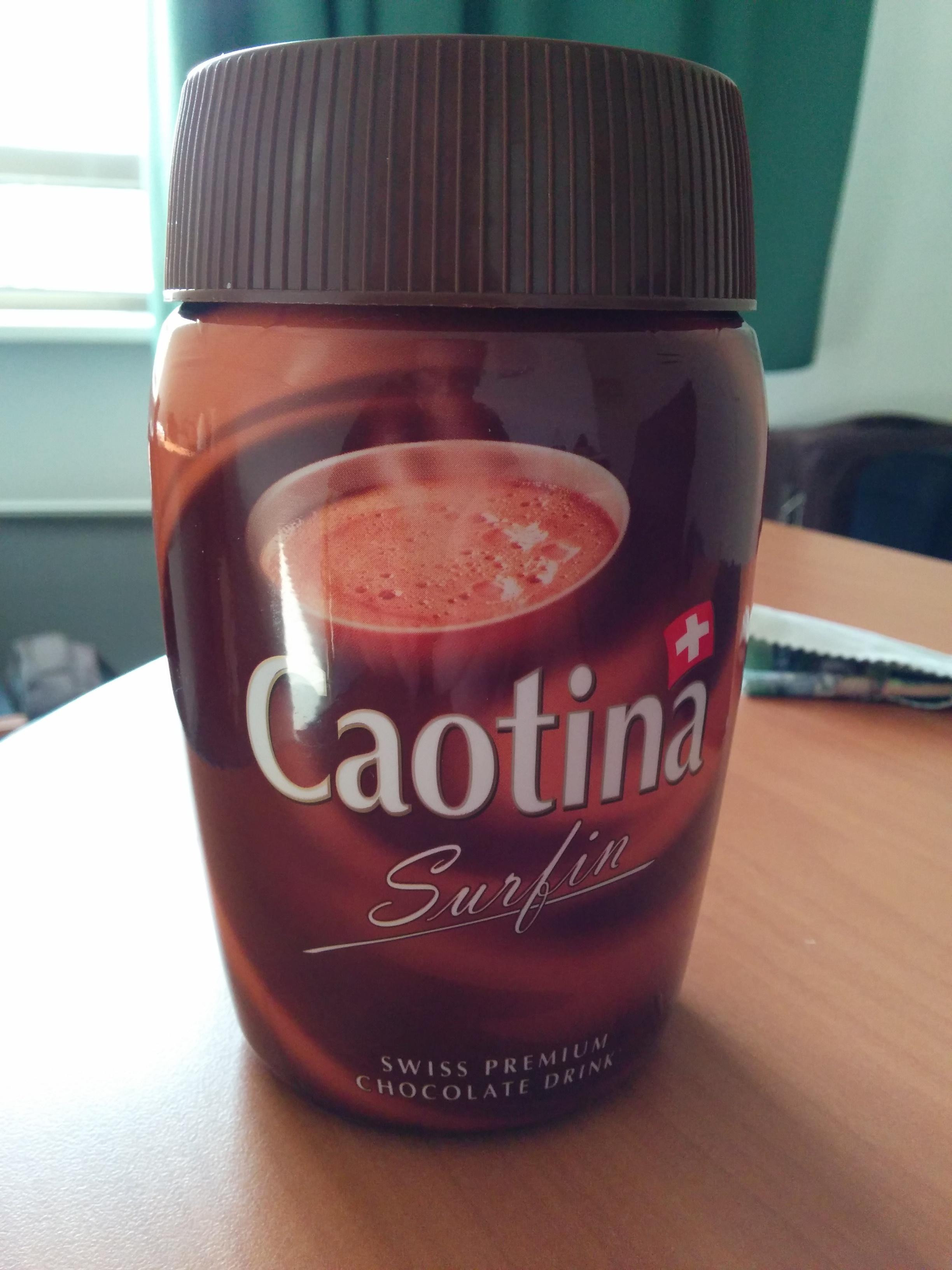 Surfin - Swiss premium chocolate drink - Produit - fr