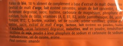 Crunchy Biscuit - Ingrediënten - fr