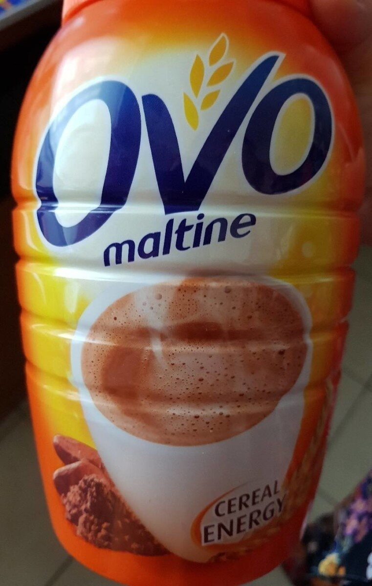 Ovomaltine - Voedingswaarden - fr