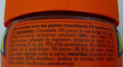 Maxi pack - Crunchy - Pâte à tartiner - Ingredienti