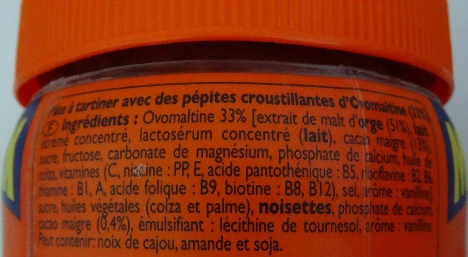 Ovomaltine Crunchy Maxi Pack - Ingrediënten