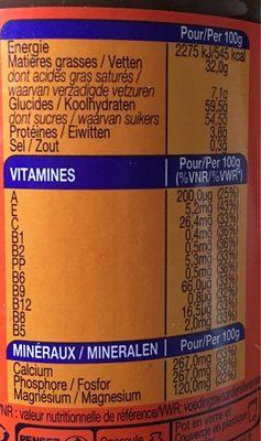 Ovomaltine Crunchy Maxi Pack - Voedingswaarden