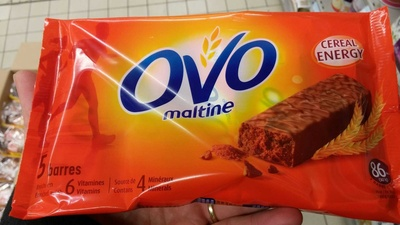 Ovomaltine Barres - Product