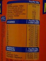 Ovomaltine crunchy - Voedingswaarden - fr