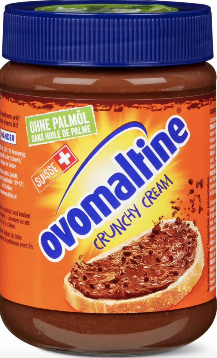 Ovomaltine crunchy cream sans huile de palme - Prodotto - de
