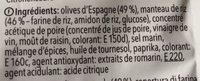 Cielos Crunchy Olives - Ingredients - fr