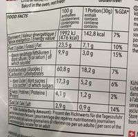 Cielos Crunchy Olives - Nutrition facts - fr