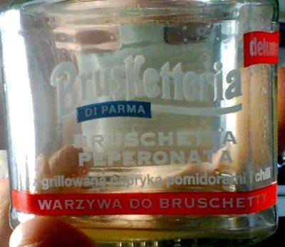 Brusketteria Di Parma - Bruschetta Poivrons - Produit - fr