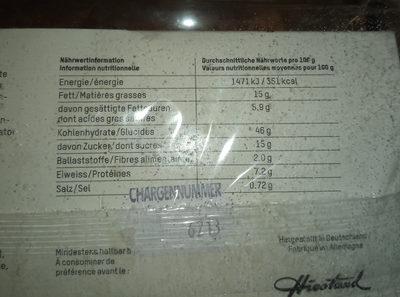 Boule de Berlin - Nutrition facts - de