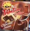 Tam Tam au Chocolat Suisse - Produit