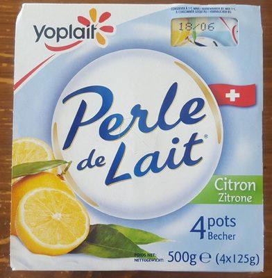 Perle de Lait Citron - Produit - fr