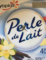 Perle de lait vanille - Produit