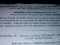 PERLE DE LAIT - Ingrédients - fr