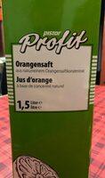 Jus d'orange Profit - Product