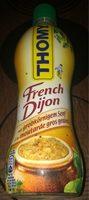 French Dijon à la moutarde gros grains - Product - fr