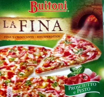 Pizza lafina - Produit - fr