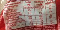 Napolitain - Chocolats assortis - Valori nutrizionali - fr