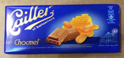 Chocolat au lait aux amandes et miel - Prodotto - fr