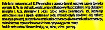 SMACZNA ZUPA Pomidorowa - Ingrediënten - pl
