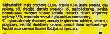 SMACZNA ZUPA Grochova - Składniki