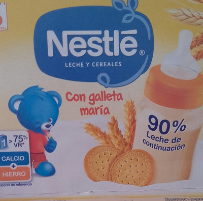 Leche y Cereales Con Galleta Maria - Product