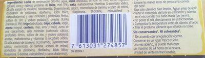 Llet Nestle Cereals Mel - Ingredientes - fr