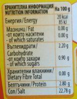 Maggi Liquid Seasoning 200G - Хранителна информация - en
