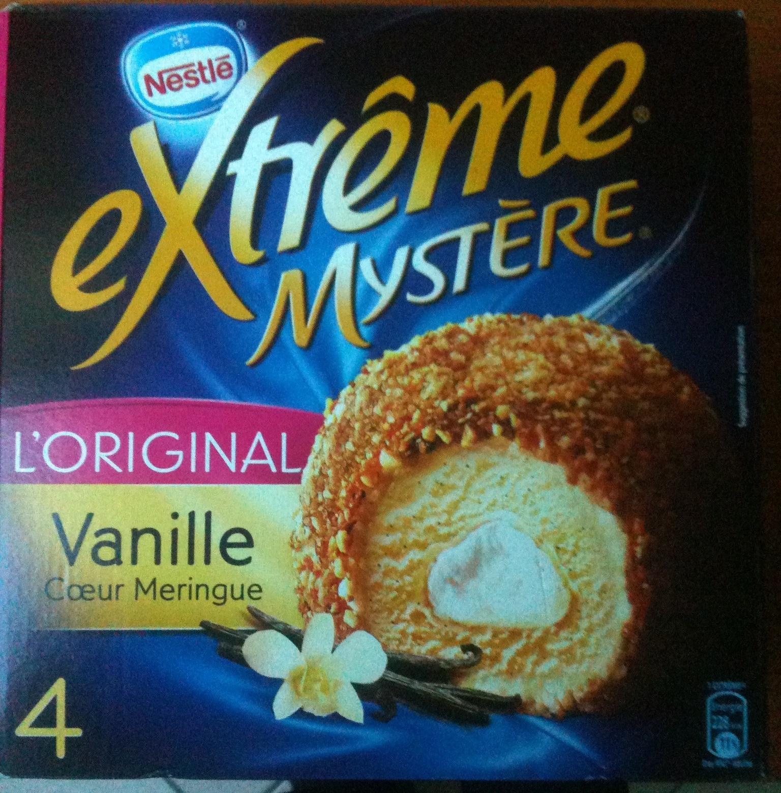 Mystère - Vanille Cœur Meringue - Produit
