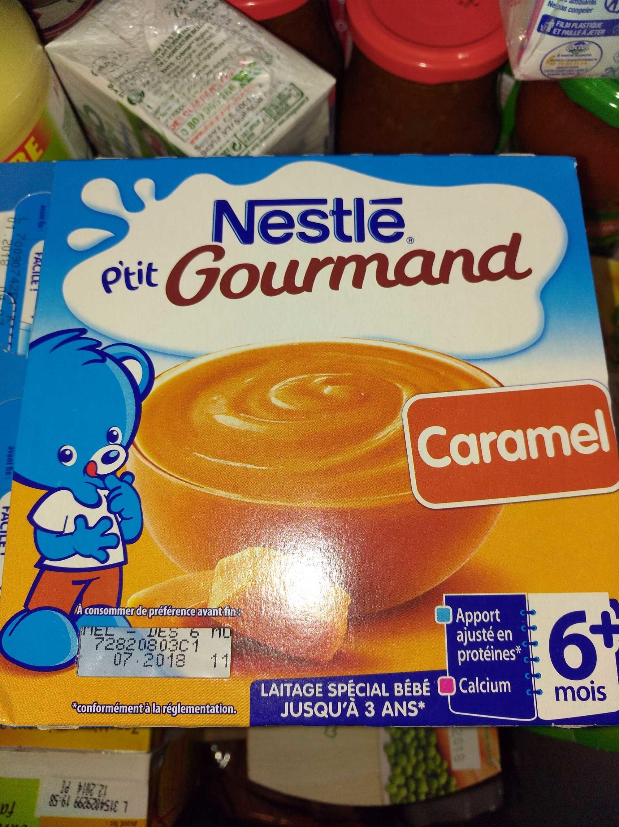 P'tit gourmand caramel - Ingrédients - fr