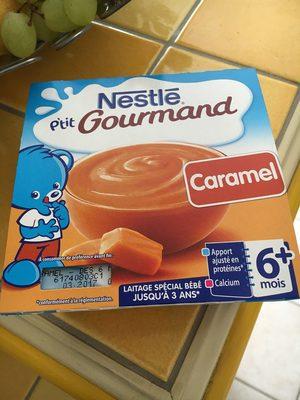 P'tit gourmand caramel - Informations nutritionnelles - fr