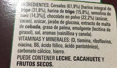 Original cereales integrales - Ingredients