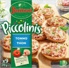 BUITONI PICCOLINIS mini-pizzas surgelées Thon 270g (9 pièces) - Produit