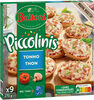 BUITONI PICCOLINIS mini-pizzas surgelées Thon 9x30g ( - Producto
