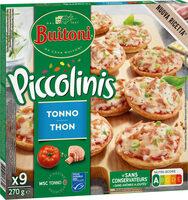 BUITONI PICCOLINIS mini-pizzas surgelées Thon 9x30g ( - Product - fr