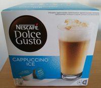 Gusto Cappuccino Ice Coffee Pods Capsules Per Box - Product - fr