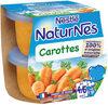 NESTLE NATURNES Petits Pots Bébé Carottes -2x130g -Dès 4/6 mois - Prodotto