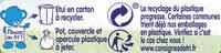 NESTLE NATURNES Petits Pots Bébé Carottes -2x130g -Dès 4/6 mois - Istruzioni per il riciclaggio e/o informazioni sull'imballaggio - fr