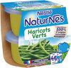 NESTLE NATURNES Petits Pots Bébé Haricots Verts -2x130g -Dès 4/6 mois - Prodotto