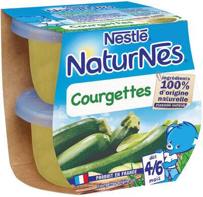 NESTLE NATURNES Petits Pots Bébé Courgettes -2x130g -Dès 4/6 mois - Prodotto - fr
