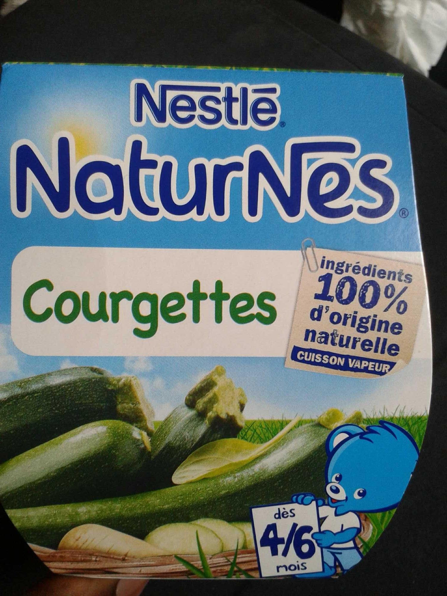 NaturNes Courgettes - Produit - fr