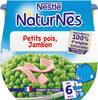 NESTLE NATURNES Petits Pots Bébé Petits Pois Jambon -2x200g -Dès 6 mois - Produto