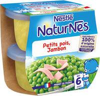 NESTLE NATURNES Petits Pots Bébé Petits Pois Jambon -2x200g -Dès 6 mois - Prodotto - fr