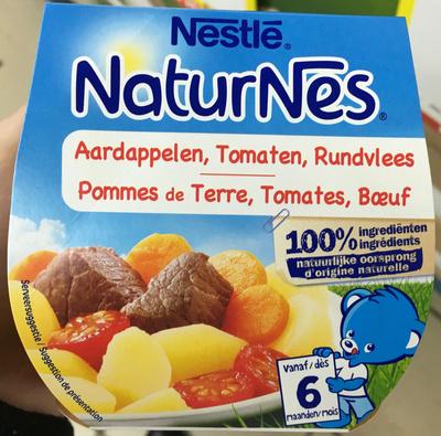 NaturNes Pommes de Terre, Tomates, Bœuf - Prodotto - fr