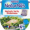 NESTLE NATURNES Petits Pots Bébé Haricots Verts Dindonneau -2x200g -Dès 6 mois - Produkt