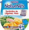 NESTLE NATURNES Petits Pots Bébé Jardinière de légumes Veau -2x200g -Dès 6 mois - Produto