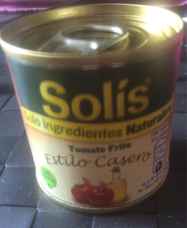 Tomate Frito Estilo Casero Solis - Producto - fr